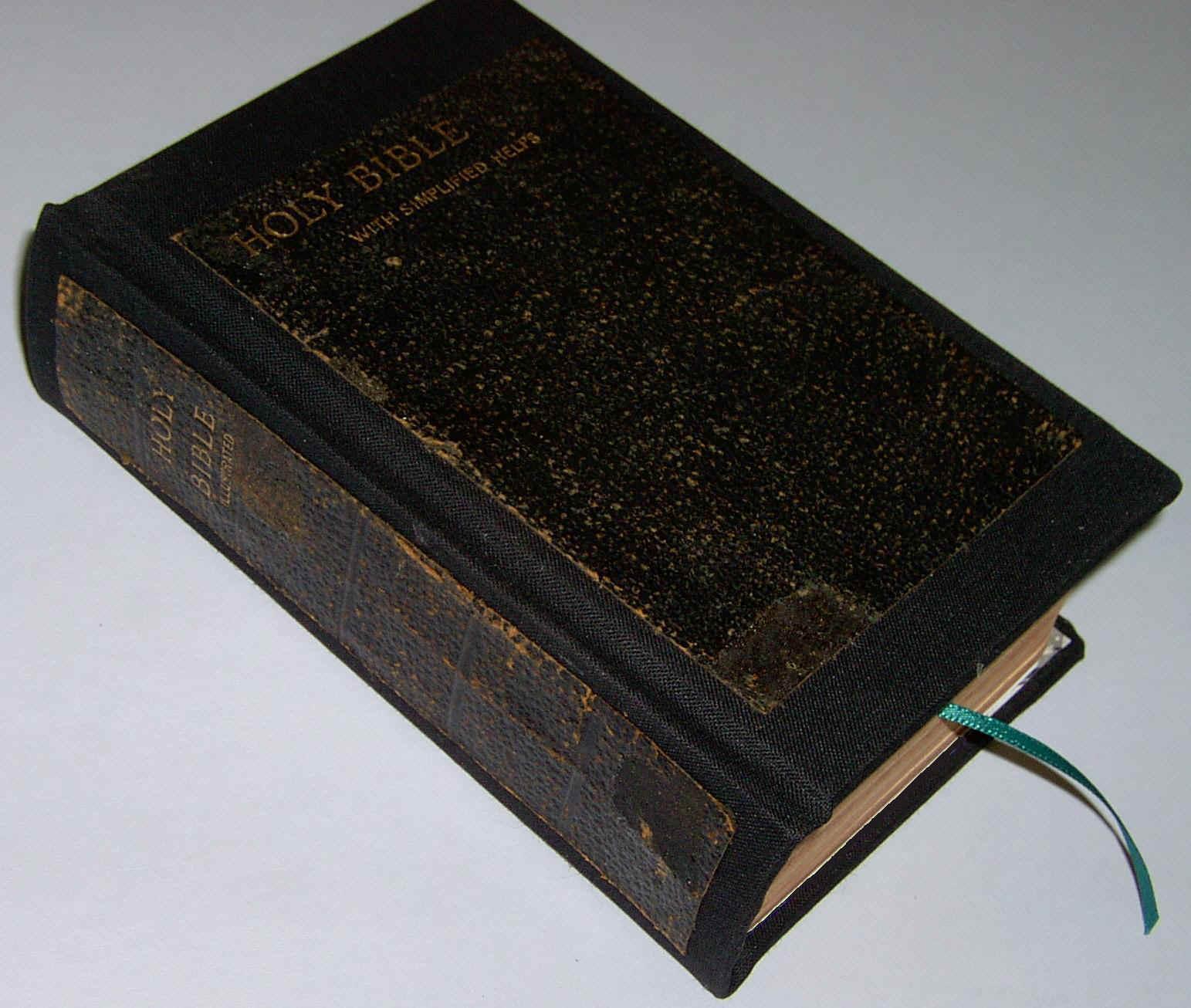 Bible and Book Repair